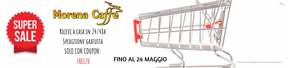 Spedizione Gratuita su MorenaCaffè.it